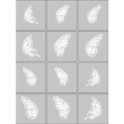 Air Nails Butterfly Wings Collection