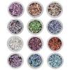 Mixed Metal Flakes 12 colors