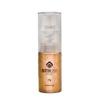 Glitterspray Ochre Gold