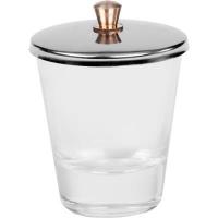 Liquid glas met RVS deksel
