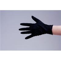 Nitril Gloves 100pcs Black S pd.fr.