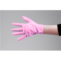 Nitril Gloves 100pcs Pink L pd.fr.