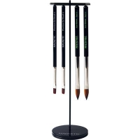 New Black Click On  Brush Stand