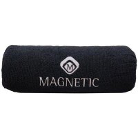Magnetic Arm Rest with 2 Black Micro Fiber Washable Covers