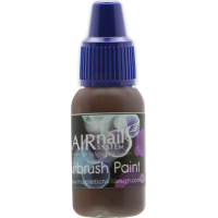 AirNails Paint Dark Brown 12 10ml